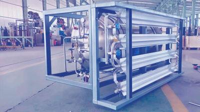 Криогенные резервуары и газификаторы