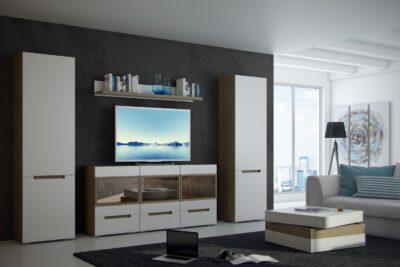 Обзор гостиных и стенок разных производителей